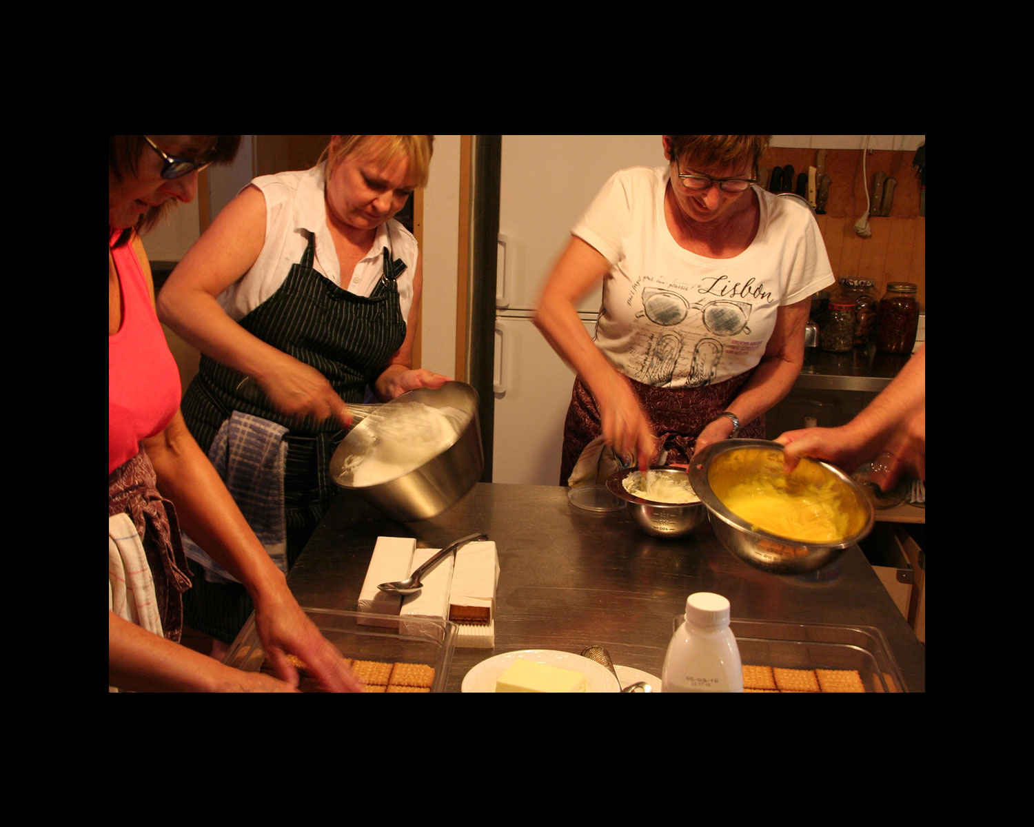 Cooking school with hands-on courses and Art excursions in Italy.