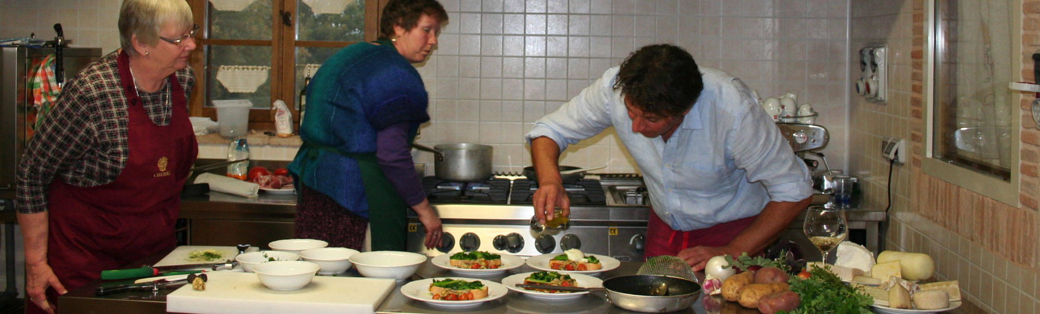 Cooking and Cookery Courses Italy