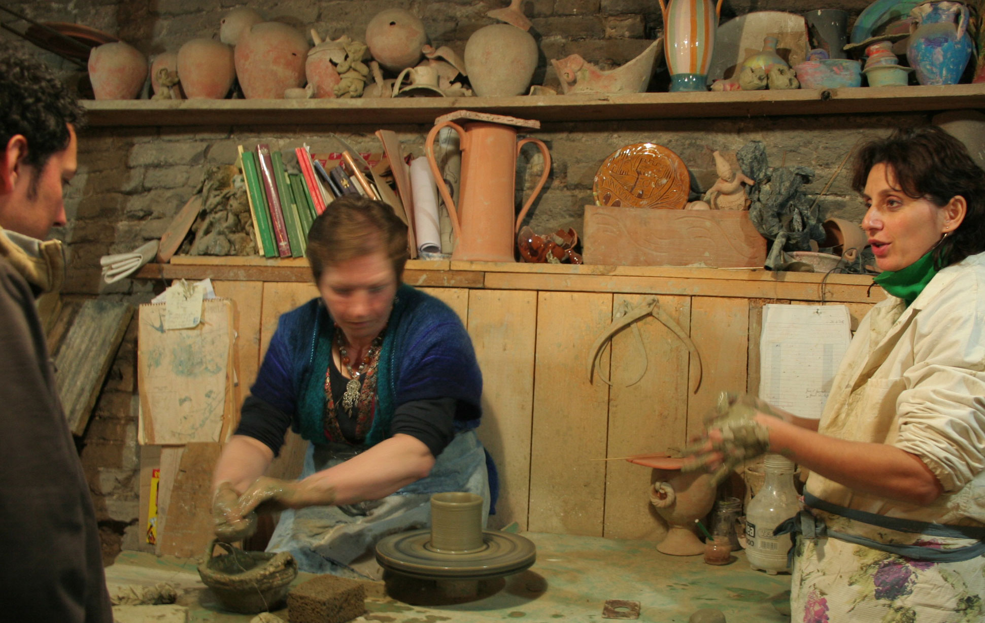 Italy pottery Tours