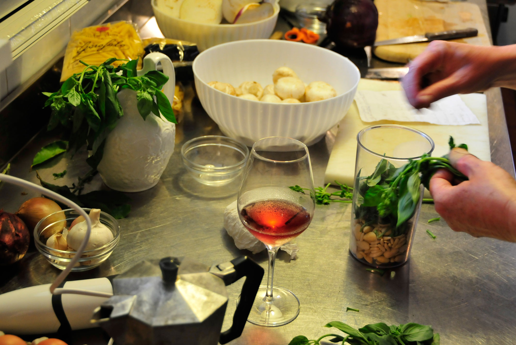Truffle Cooking Course Marche Italy