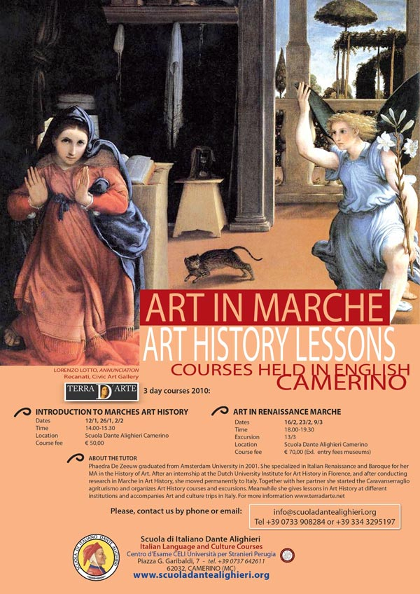 history of art coursework A history of european art is your gateway to this visually stunning story his passion for and knowledge of art history make this course a delight.
