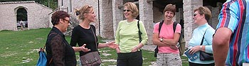 Tour to Sibillini monastery in Marche Italy