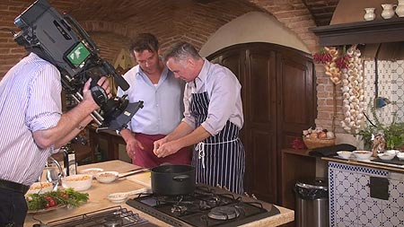 Cooking Courses With Ennio Barbieri Featuring In The UK Tv Series With Gary R