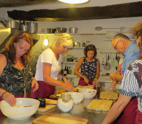 cooking classes and culinary tours in Marche Umbria and Tuscany, Italy.
